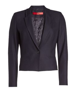 Hugo | Blazer With Ruffled Trim Gr. De 32