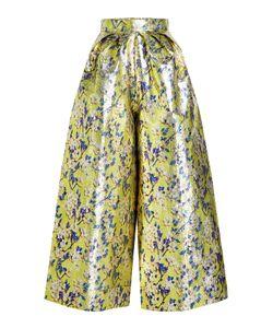 Delpozo   Printed Wide Leg Pants With Silk Gr. Fr 38