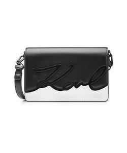 Karl Lagerfeld | Leather Shoulder Bag Gr. One Size
