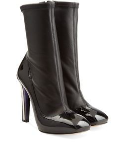 Alexander McQueen | Leather Ankle Boots Gr. 38
