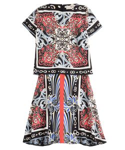 Etro | Printed Silk Dress Gr. 38