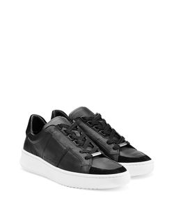 Burberry | Leather And Suede Sneakers Gr. 40