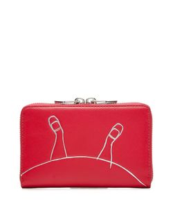 Marc by Marc Jacobs x Disney | Alice Two Way Wingman Leather Wallet Gr. One Size