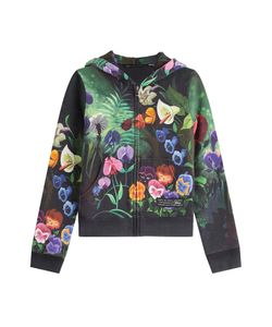 Marc by Marc Jacobs x Disney | Garden Printed Zipped Cotton Hoody Gr. M