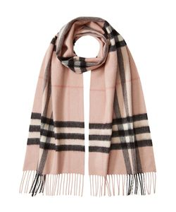 Burberry | Check Print Cashmere Scarf Gr. One Size