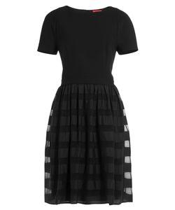 Hugo | Dress With Sheer Striped Skirt Gr. 34