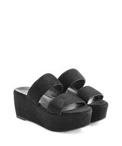 Robert Clergerie | Frazzia Suede Platform Sandals Gr. 36