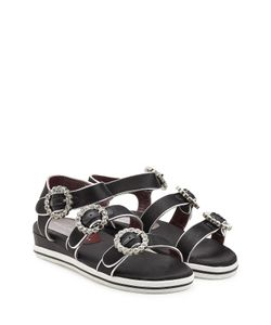 Marc by Marc Jacobs | Embellished Satin Sandals Gr. 36