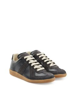 Maison Margiela | Leather And Suede Sneakers Gr. 36