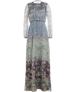 Valentino | Printed Silk Maxi Dress Gr. 40