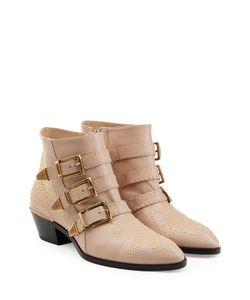 Chloe | Studded Susanna Ankle Boots Gr. 36