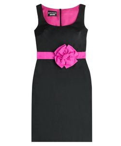 BOUTIQUE MOSCHINO | Cocktail Dress With Bow Sash Gr. 38
