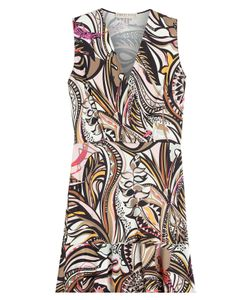 Emilio Pucci | Printed Dress With Silk Gr. 38