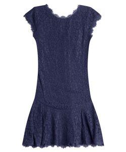 Diane Von Furstenberg | Cap Sleeve Lace Dress Gr. 0