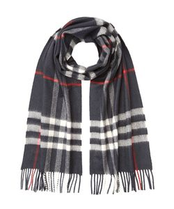 Burberry | Checked Cashmere Scarf Gr. One Size