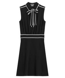 BOUTIQUE MOSCHINO | Tie Neck Dress Gr. 38