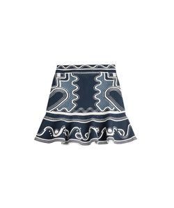 Peter Pilotto | Embroidered Stretch Skirt Gr. S