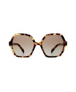 Prada | Oversize Tortoiseshell Sunglasses Gr. One Size