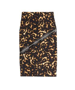 Mcq Alexander Mcqueen | Stretch Cotton Pencil Skirt With Zip Detail Gr. M