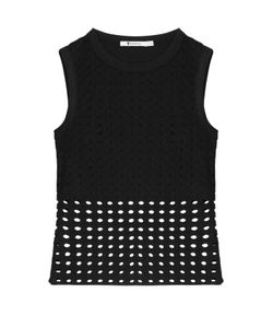 T By Alexander Wang | Sleeveless Top With Cut-Out Detail Gr. M