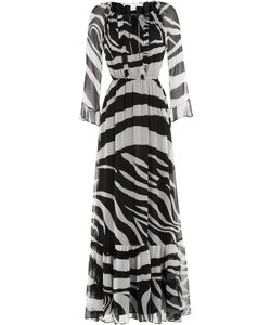Diane Von Furstenberg | Printed Silk Maxi Dress Gr. 6