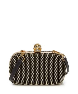 Alexander McQueen | Embellished Leather Box Clutch Gr. One Size