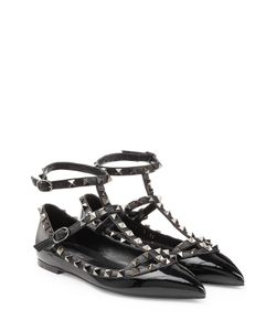 Valentino | Rockstud Leather Ballerinas Gr. 36
