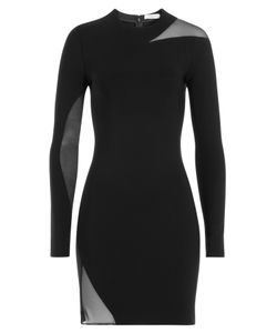 Mugler | Dress With Sheer Inserts Gr. 34