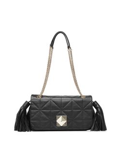 Sonia Rykiel | Quilted Leather Shoulder Bag Gr. One Size