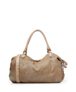 Reptile´s House | Laser Cut Leather Tote Gr. One Size
