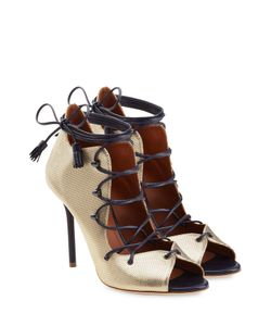 MALONE SOULIERS | Lace-Up Leather Ankle Boots Gr. 40