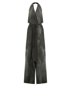 TAMARA MELLON | Washed Silk Jumpsuit Gr. 6