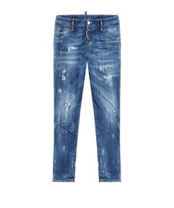 Dsquared2 | Distressed Cropped Jeans Gr. 38