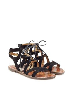 Sam Edelman | Lace Up Suede Sandals Gr. 36