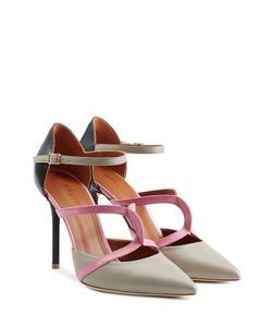 MALONE SOULIERS | Leather Double Strap Mules Gr. 40