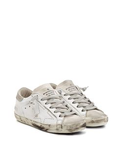 Golden Goose | Super Star Suede And Leather Sneakers Gr. 36