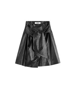 MSGM | Coated Cotton Belted Skirt Gr. 38