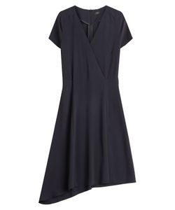 Joseph | Draped Hem Crepe Dress Gr. 36