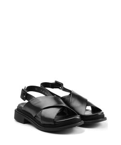 Robert Clergerie | Leather Crisscross Sandals Gr. 36