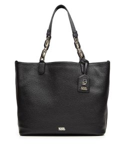 Karl Lagerfeld | Grainy Leather Tote Bag Gr. One Size