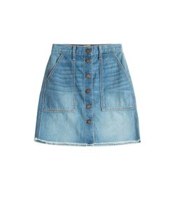 Current/Elliott | The Naval Jean Skirt Gr. 25