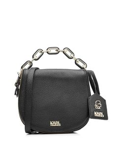 Karl Lagerfeld | Grainy Leather Small Satchel Bag Gr. One Size