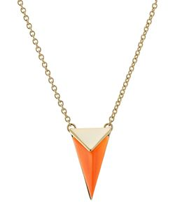 Alexis Bittar | -Plated Necklace With Lucite Gr. One Size