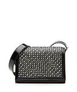 Victoria Beckham | Woven Patent Leather Mini Shoulder Bag Gr. One Size