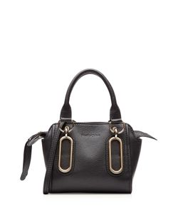 See By Chloe | Leather Tote With Gilded Hardware Gr. One Size