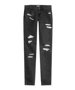 Karl Lagerfeld | Distressed Skinny Jeans Gr. 25