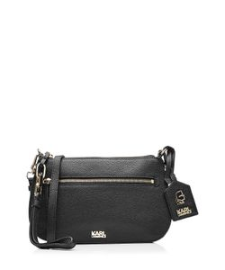 Karl Lagerfeld | Leather Shoulder Bag Gr. One Size