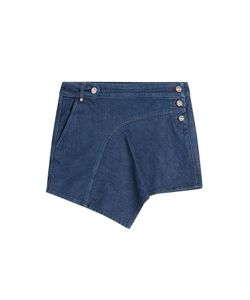 Anthony Vaccarello | Denim Mini-Skirt Gr. 34