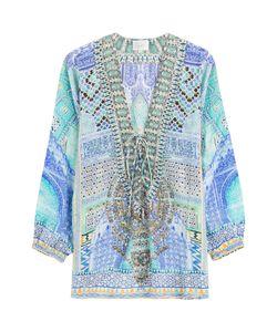 Camilla | Embellished Silk Blouse Gr. 2