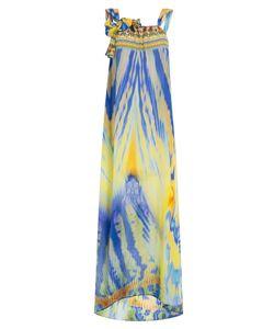 Camilla | Printed Silk Maxi Dress Gr. One Size
